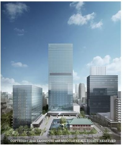 オークラ プレステージタワーの竣工イメージ図