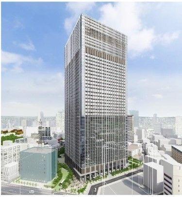 (仮称)赤坂二丁目プロジェクトの竣工イメージ図