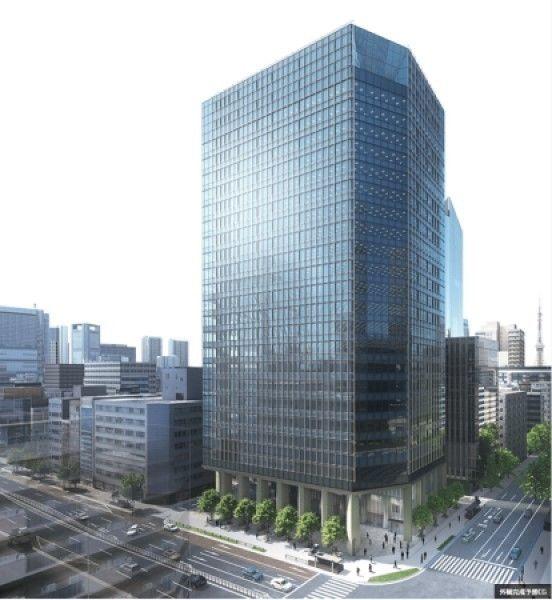 東京虎ノ門グローバルスクエアの竣工イメージ図
